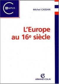 L'Europe au 16e siècle