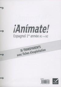 Animate espagnol 1re année : 16 transparents
