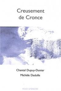 Creusement de Cronce : Encres