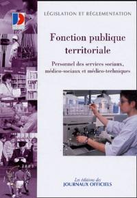Fonction publique territoriale personnel medico-sociaux   (316700000)