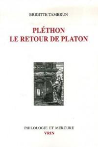 Pléthon le retour de Platon