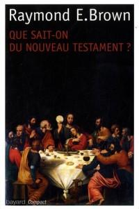 Que Sait-on du Nouveau Testament Ed2011 Poche