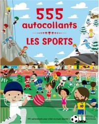 Les sports : 555 autocollants