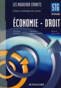 Economie- Droit Tle STG