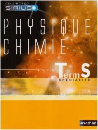 Physique Chimie Tle S Spécialité : Programme 2002