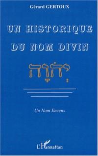 Un historique du nom divin - Un Nom Encens