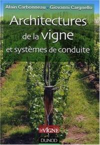 Architectures de la vigne et systèmes de conduite : Description et aptitudes viticoles