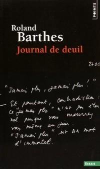 Journal de deuil. 26 octobre 1977 - 15 septembre 1