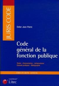 Code général de la fonction publique (ancienne édition)