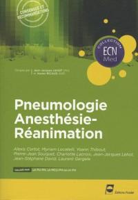 Pneumologie Anesthésie-Réanimation