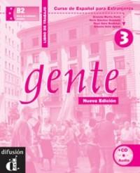 Gente 3 (ejercicios+CD) nueva edicion