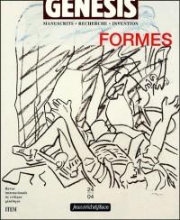 Genesis, N° 24, 2004 : Forme