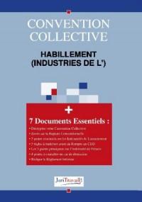3098. Habillement (industries de l') Convention collective