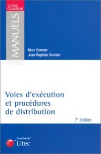 Voies d'exécution et procédures de distribution (ancienne édition)