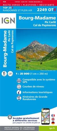 BOURG-MADAME / COL DE PUYMORENS PIC CARLIT RESISTANTE