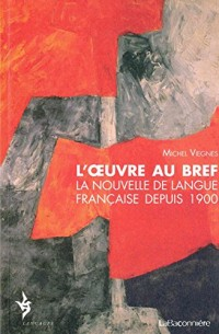 L'oeuvre au bref : La nouvelle de langue française depuis 1900