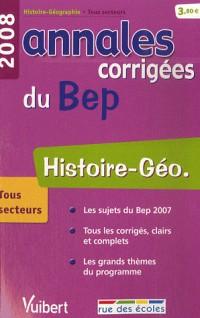 Histoire-Géo : Annales corrigées du BEP