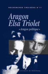 Recherches Croisées, N° 11 : Aragon Elsa Triolet