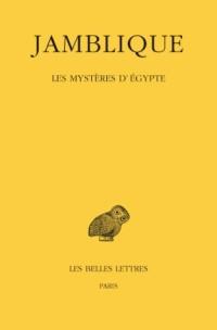 Les mystères d'Egypte