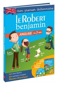 Robert Benjamin Anglais: First dictionary in French for French children (Infants)