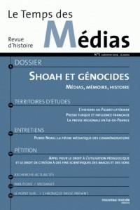 Le Temps des Médias, N° 5 : Shoah et génocides