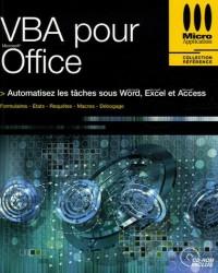 VBA pour Office (1Cédérom)