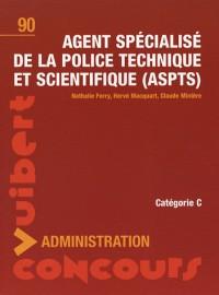 Agent spécialisé de la police technique et scientifique : N°90