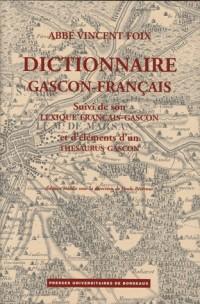 Dictionnaire gascon-français (Landes), suivi du lexique français-gascon et d'éléments d'un thésaurus gascon