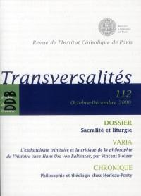 Revue Transversalites N112
