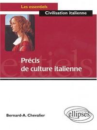 Précis de culture italienne