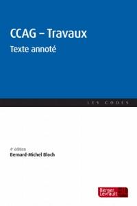 CCAG - Travaux : Texte annoté