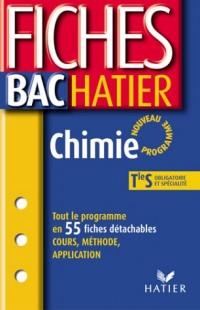 Fiches Bac Hatier : Chimie, terminale S - Enseignements obligatoire et de spécialité