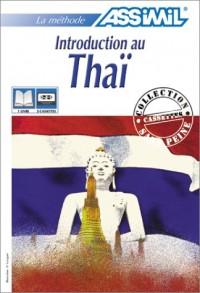 Introduction au Thaï (1 livre + coffret de 3 cassettes)