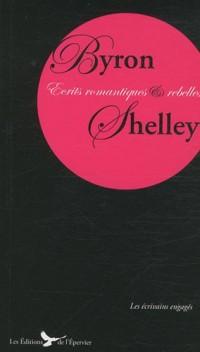 Byron Shelley Ecrits Romantiques et Rebelles