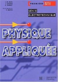 Physique appliquée, 1ère STI Électrotechnique