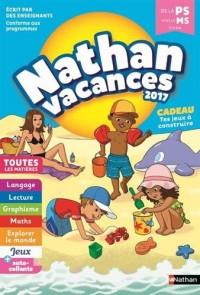 Nathan Vacances 2017 - De la Petite vers la Moyenne section - Cahier de vacances