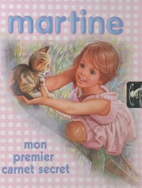 Mon premier carnet secret Martine