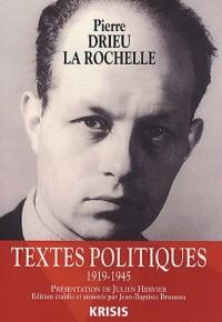 Textes politiques : 1919-1945