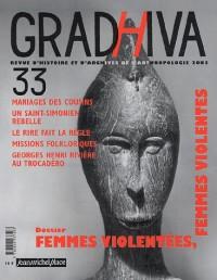 Femmes violentées, femmes violentes