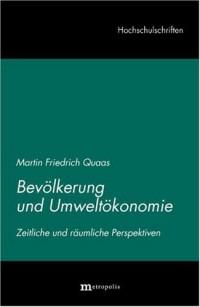 Bevölkerung und Umweltökonomie