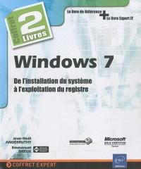 Windows 7 - Coffret de 2 livres : De l'installation du système à l'exploitation du registre