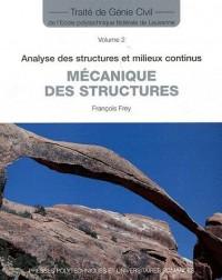 Mécanique des Structures (Traite de Génie Civil Vol.2)