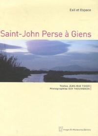 Saint-John Perse à Giens : Exil et Espace