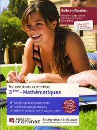 Tout pour réussir sa rentrée en Mathématiques 3e