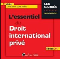 L'Essentiel du Droit international privé, 6ème Ed.