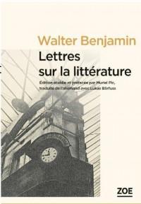 Lettres sur la littérature