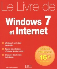 Le livre de Windows 7 et Internet