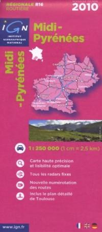 Midi-Pyrenees 2010: IGN.R16