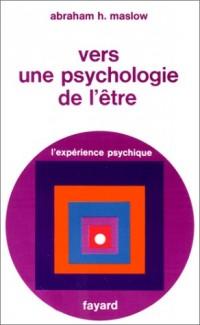Vers une psychologie de l'Etre