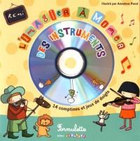 L'imagier à mimer des instruments (1CD audio)